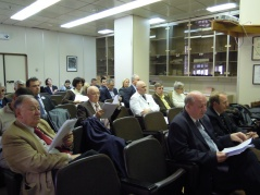 20 April 2012 Participants of the 75th sitting of the Committee on Science and Technological Development, held at the Clinical Centre of Serbia