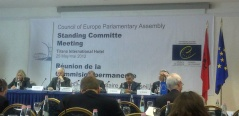 25 May 2012 The Standing Committee and Bureau of the Parliamentary Assembly of the Council of Europe meet in Tirana