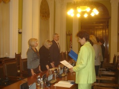 14 May 2012  The judges take the oath of office before National Assembly Speaker Prof. Dr Slavica Djukic Dejanovic