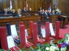 15 February 2013 First Solemn Sitting of the National Assembly of the Republic of Serbia in 2013