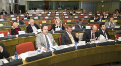 8 October 2015  The National Assembly delegation to the European Union-Serbia Stabilisation and Association Parliamentary Committee in Strasbourg
