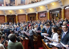 3 June 2016  First Sitting of the National Assembly of the Republic of Serbia