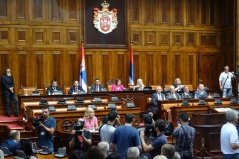 19 July 2017 Third Extraordinary Session of the National Assembly of the Republic of Serbia, 11th Legislature
