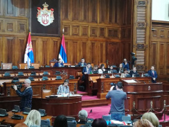 16 Decembar 2019 Ninth Sitting of the Second Regular Session of the National Assembly of the Republic of Serbia in 2019