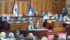 20 November 2019 Sixth Sitting of the Second Regular Session of the National Assembly of the Republic of Serbia in 2019