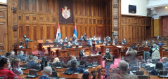 8 May 2020 Second Sitting of the First Regular Session of the National Assembly of the Republic of Serbia in 2020