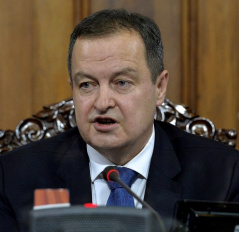 25 February 2021 National Assembly Speaker Ivica Dacic