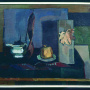 Djordje Bošan <br>Still life <br>Oil on canvas, 70 × 85 cm <br>Signed below on the left: Bošan đ