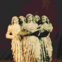 Vanja Radauš <br>Quintet of women <br>Terracotta, 41.5 × 34.5 × 21.5 c